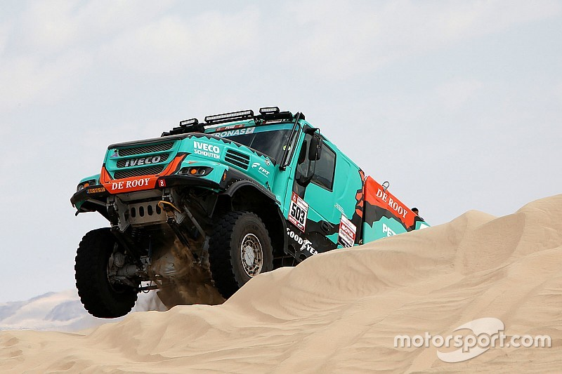 "De Rooy's verdict on Dakar 2019: ""We had some back luck…"""