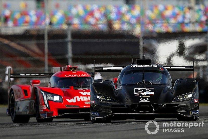 Tincknell'in Mazda'sı, Rolex 24 Saat öncesindeki altıncı testte en hızlı isim oldu