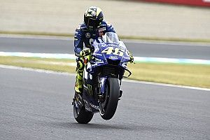 "Rossi laments Yamaha tyre pressure ""mistake"""