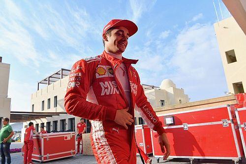 Леклер превзошел время Феттеля на тестах в Абу-Даби