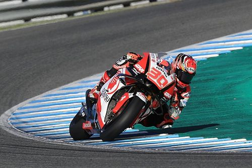 Nakagami heads Marquez on final test day of 2018
