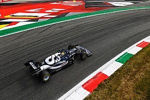 F1イタリアFP2速報:各車ロングランに集中。ハミルトン首位、最多周回の角田裕毅は15番手