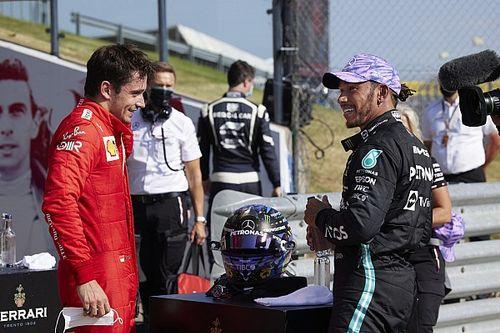 """Hamilton: """"Ferrari tulumu giymeden emekli olacak olmak 'inanılmaz' bir şey"""""""