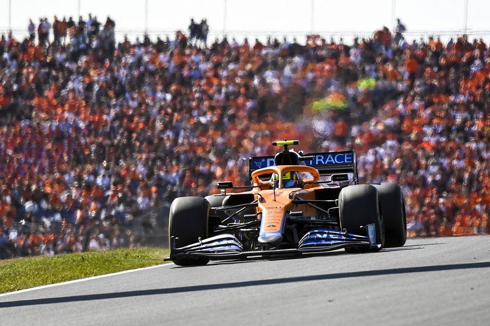 McLaren peine à se satisfaire du point marqué par Norris