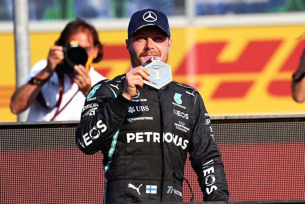 Valtteri Bottas Merasa Aneh Tidak Dapat Pole Position GP Italia