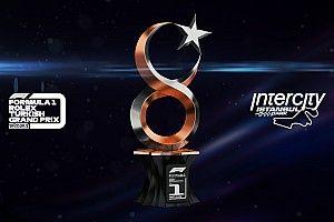 2021 Türkiye Grand Prix'sinde verilecek kupa ortaya çıktı