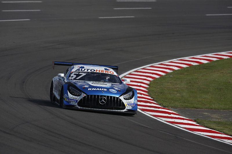 Winward-Mercedes-coureur Ellis wint zijn eerste DTM-race