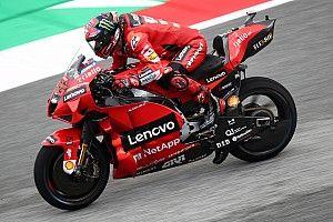 MotoGP, Stiria, Libere 3: Bagnaia precede le Yamaha