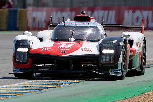 1-2 de Toyota en el warm up para las 24 Horas de Le mans