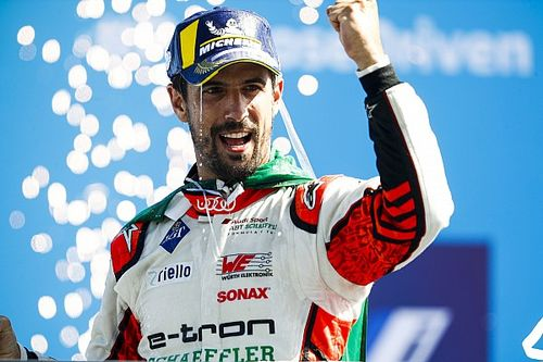 Di Grassi emotional after winning on Audi's farewell FE weekend