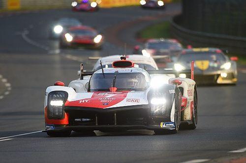 Toyota controleert bij zonsopkomst, Frijns leidt in LMP2