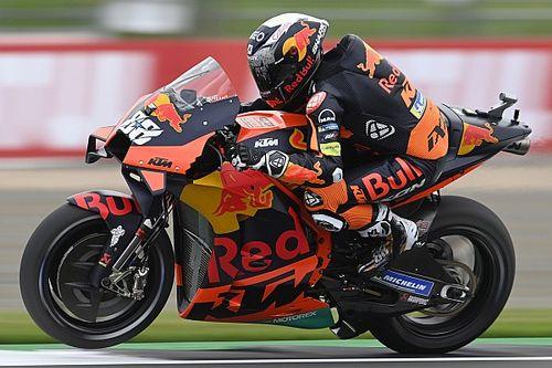 Miguel Oliveira souffrait d'un manque de traction à Silverstone