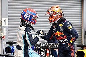 F1-update: Verstappen op pole in België, Russell steelt de show