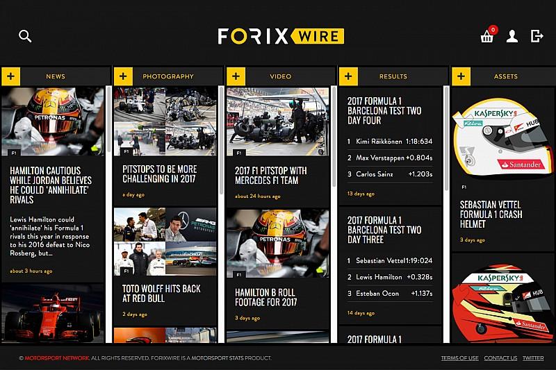 Motorsport Stats запускает сервис ForixWire