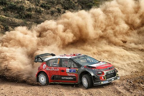 WRC Rallye Mexiko: Kris Meeke weiter auf Siegkurs
