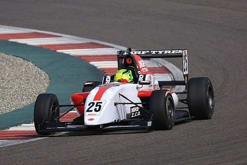 Buddh MRF Challenge: Schumacher takes lights-to-flag win in Race 1