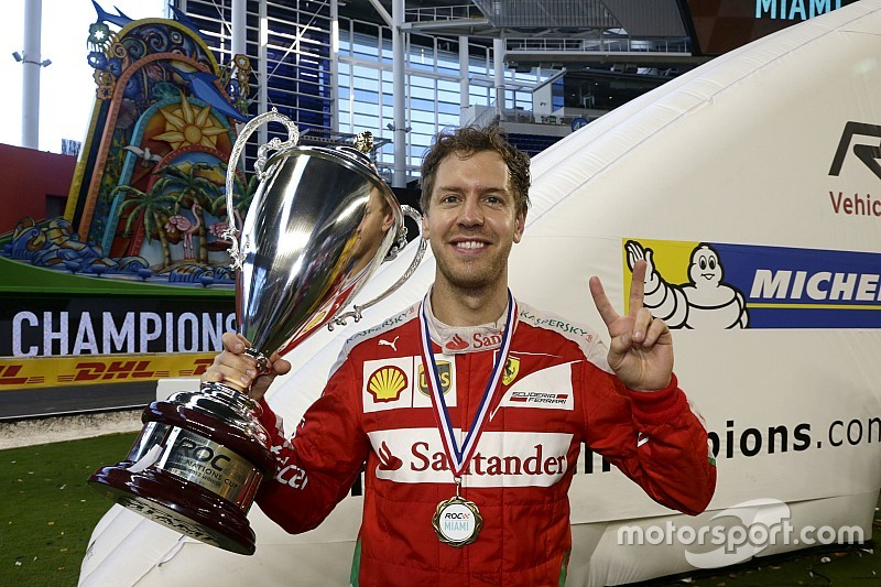 Vettel delivers Germany seventh ROC Nations Cup win
