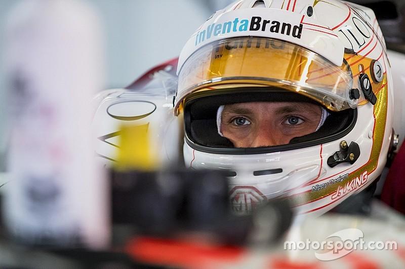 King vise la Formule E pour devenir professionnel