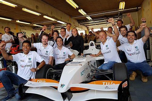 Studententeam uit Eindhoven verbetert elektrisch ronderecord Circuit Zandvoort