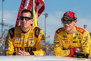 """Busch proclaims """"everything's great"""" after NASCAR meeting with Logano"""