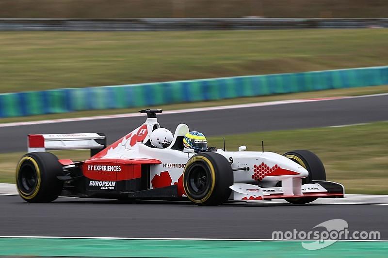 Baumgartner Zsolt ismét a pályán: Hungaroring