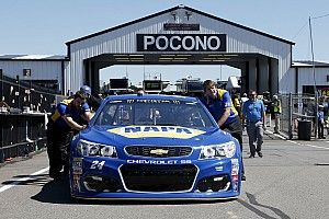 Chevrolet nowhere to be seen in Pocono battle for the win