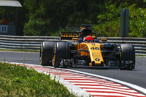 "Hulkenberg: Kubica ""quite impressive"" in Hungary test"