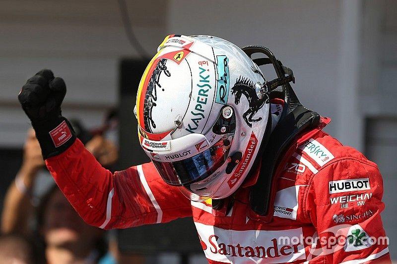 Vettel se impone en Hungría con Raikkonen ganándose la renovación