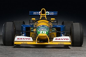Automotive Breaking news Benetton F1 car driven by Michael Schumacher for sale