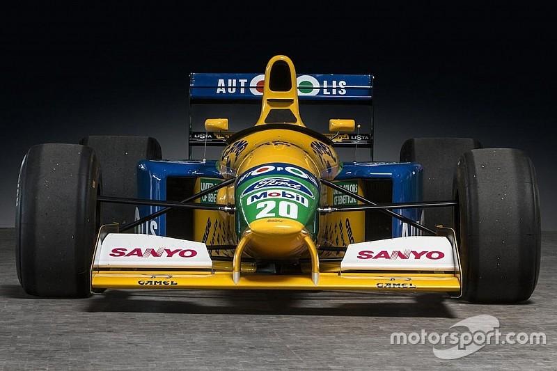 Árverésre kerül Schumacher 1991-es Benettonja!