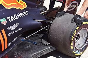 Red Bull: si misurano le deformazioni della gomma posteriore