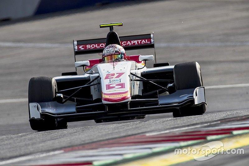 Raoul Hyman gana su primera carrera de la GP3 en Austria