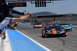 Lamborghini Super Trofeo Gara Grenier-Spinelli del team Antonelli vincono di forza al Paul Ricard