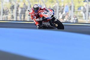 MotoGP Réactions Dovizioso rassuré après un samedi de stress