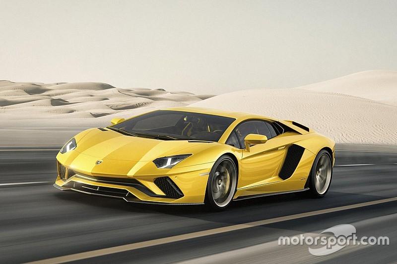 Lamborghini présente sa nouvelle Aventador S
