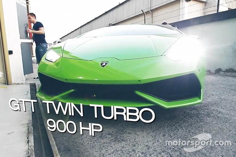 Vidéo - Une Lamborghini Huracan de 900 chevaux!