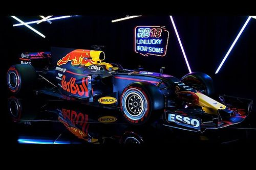 Red Bull lève le voile sur sa nouvelle RB13