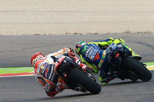 Fotogallery: la pioggia condiziona le libere della MotoGP ad Aragon