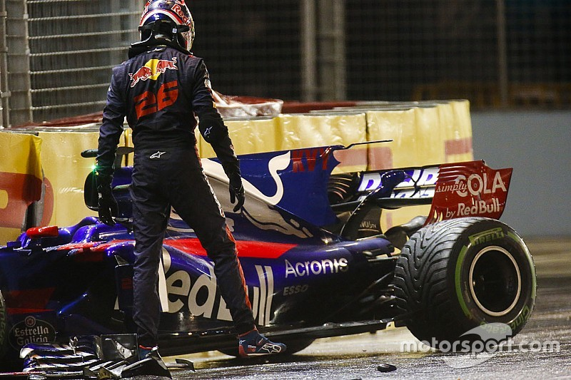 "Kvyat and Toro Rosso had ""lost trust in each other"""