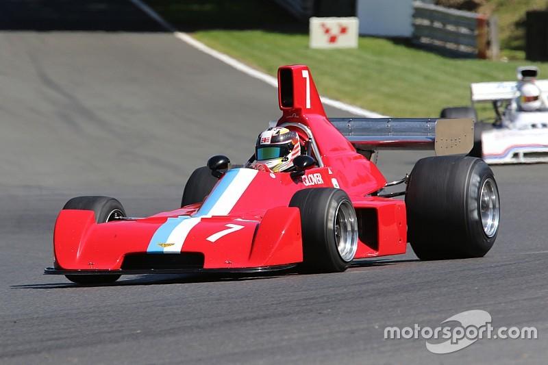 Formula 5000 cars return to Castle Combe