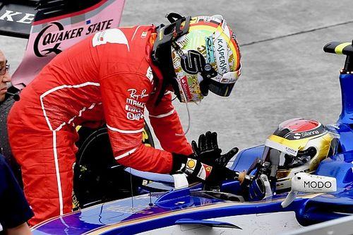 L'incident du volant de Vettel n'a pas été rapporté aux commissaires