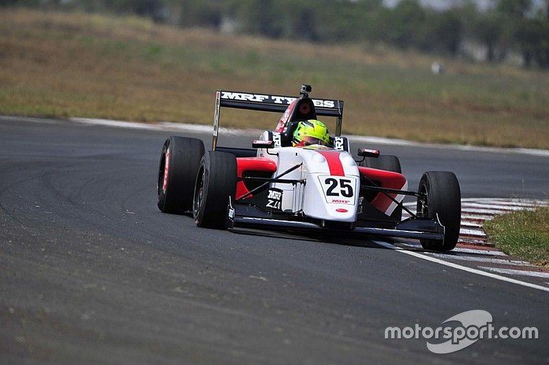 Chennai MRF Challenge: Schumacher tops Friday practice