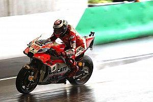 """Lorenzo: """"Es la primera vez que prefiero que llueva en carrera"""""""