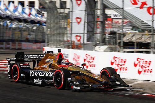 IndyCar: Hinchcliffe lesipuskás győzelmet aratott Long Beach-ben!