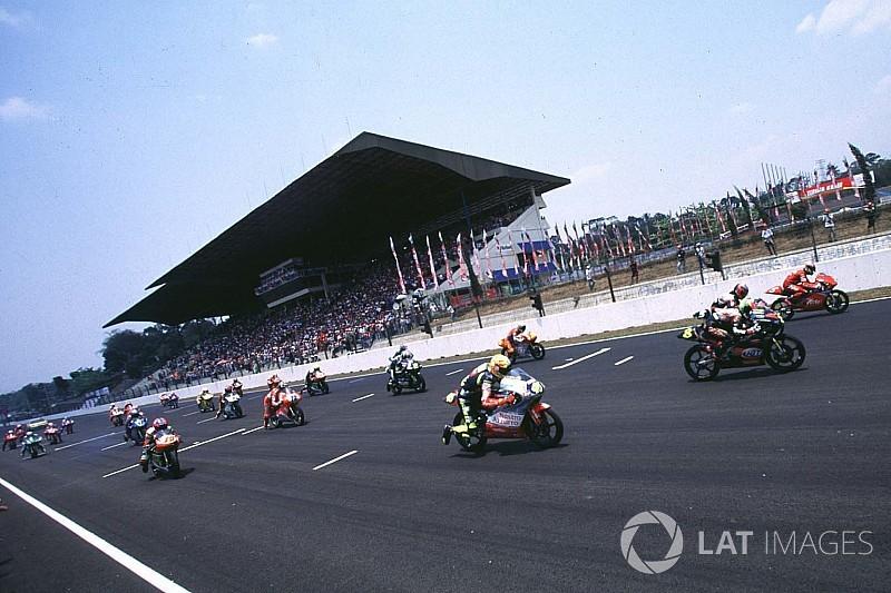 GALERI: Ketika Valentino Rossi juarai GP 125cc Indonesia 1997