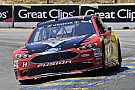 NASCAR Cup Bowyer finishes second despite