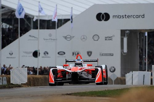 Mahindra sets Goodwood open-wheel eRecord with M4Electro