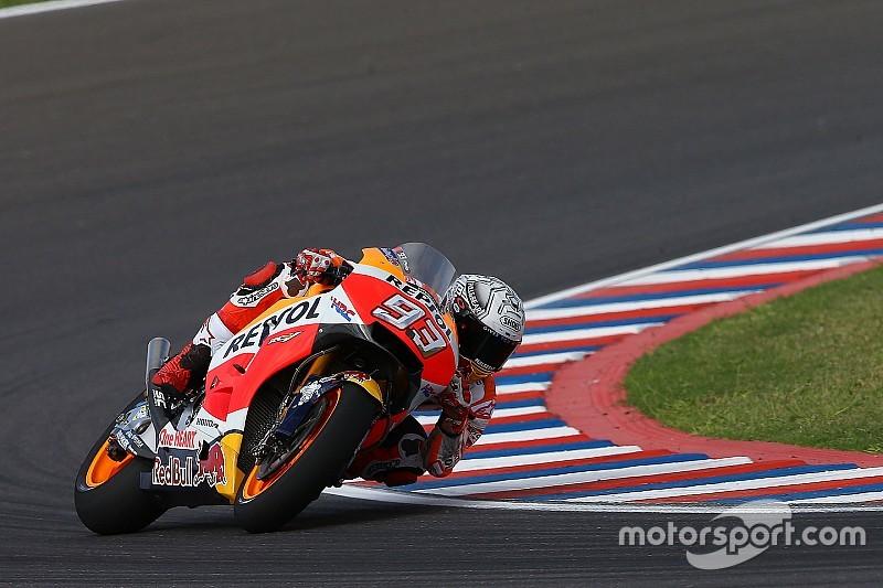 """Márquez: """"Perdemos tres décimas en aceleración, y esto no es normal"""""""
