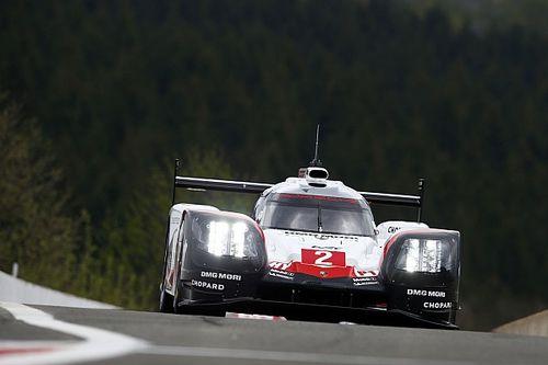 Porsche a lutté contre les éléments à Spa