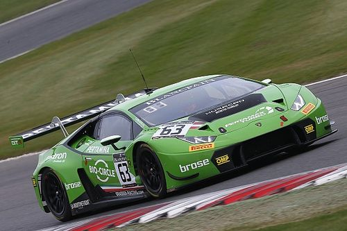 Engelhart and Bortolotti win for Lamborghini at Brands